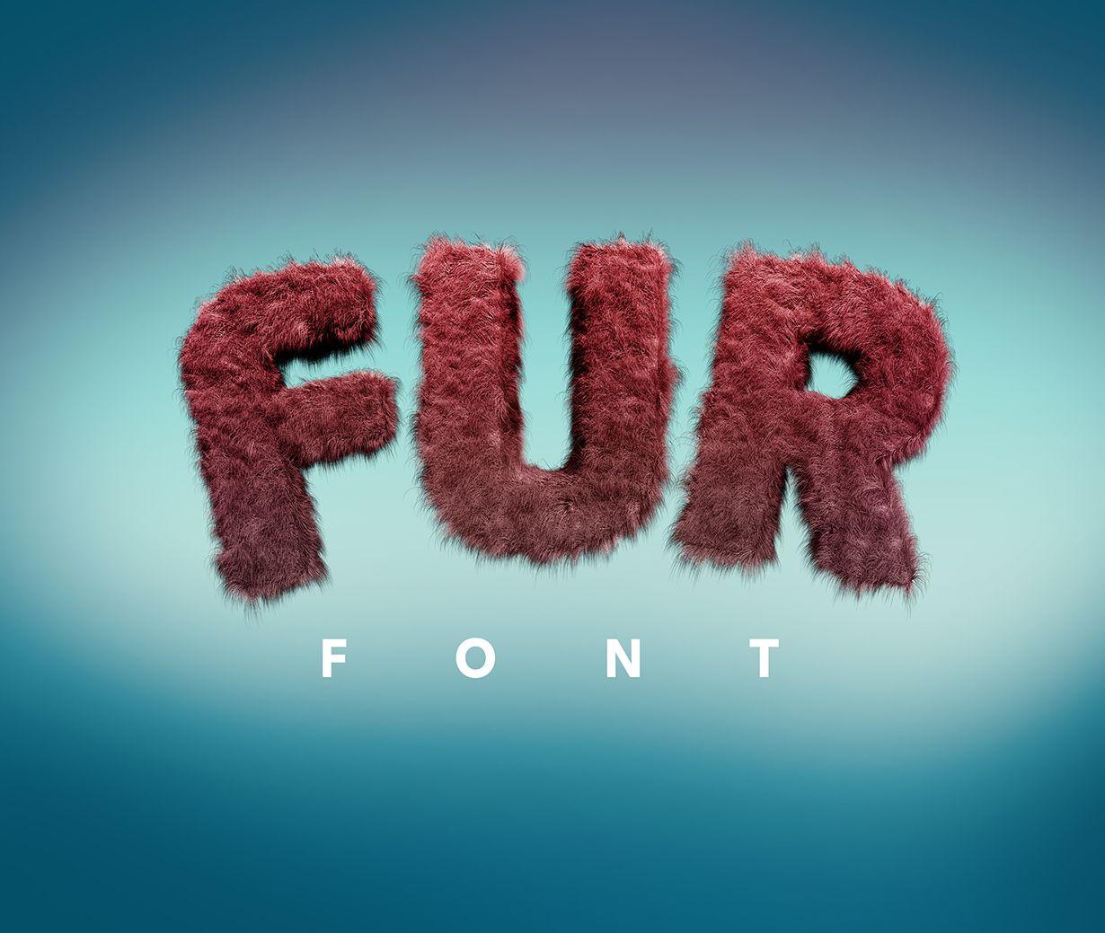 Fur Font Gk Mockups Store Textured Lettering Creative Fonts Creative Sketches
