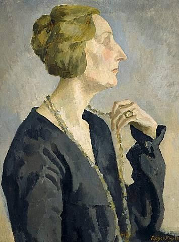 Portrait of Edith Sitwell - Roger Fry.
