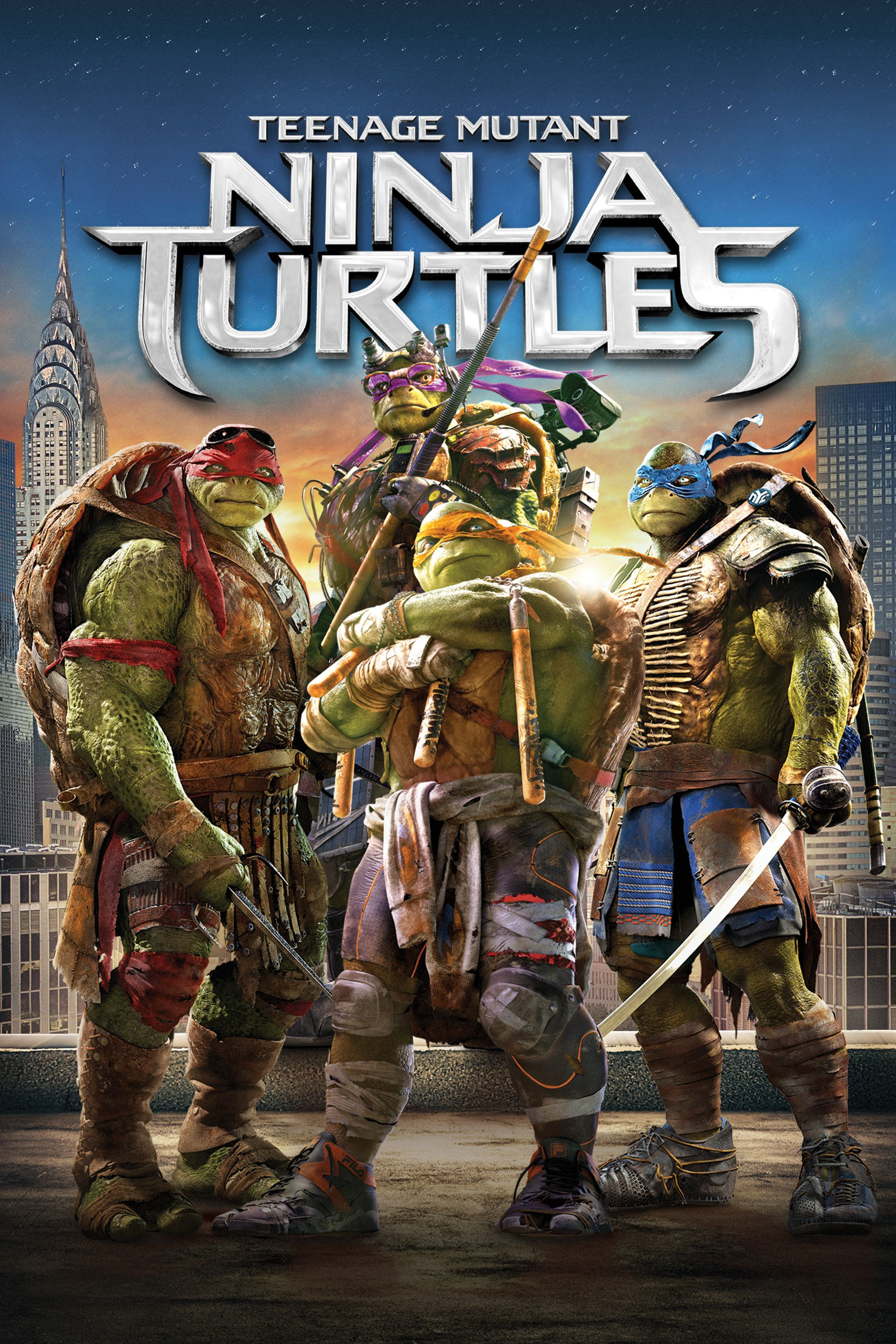 Teenage Mutant Ninja Turtles 2014 Movie Poster Megan Fox Will Arnett William Fichtner Teenagemutantninjaturtles 2014 Meganfox W Blu Ray Dvd Ninja