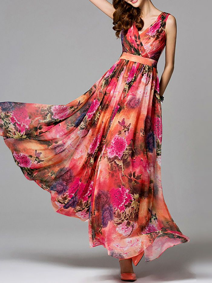 7ce9f9b72af Floral-print Chiffo… | Fashion; From Classic and Subtle To Bold and ...