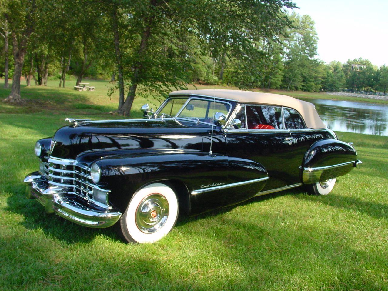 1947 Cadillac Convertible Vintage cars, Cadillac