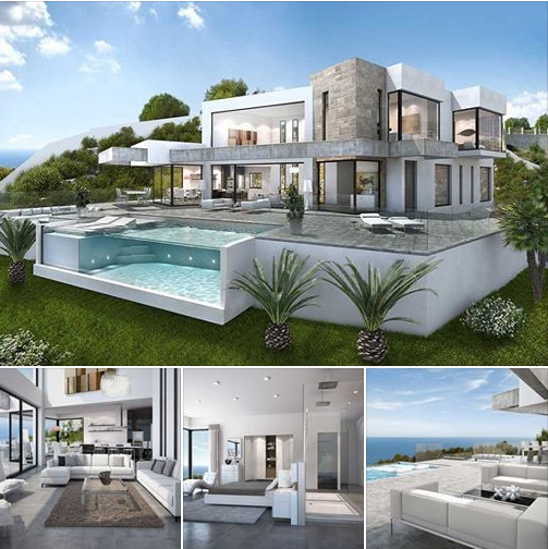 A Beautiful Contemporary Residence Visualized In Spain Luxury