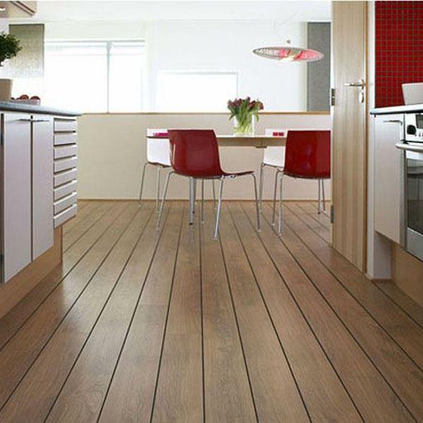 Laminat Bodenbelag rot stuhl tisch idee | Woodart | Pinterest ...