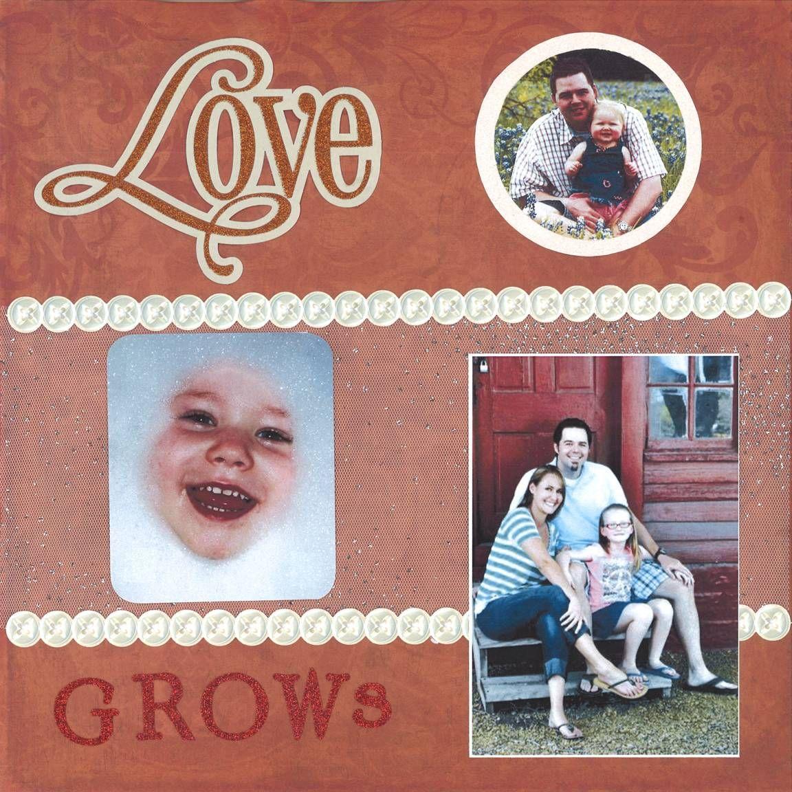 Scrapbook ideas grandma - Grandmother S Alzheimer S Scrapbook Page 19