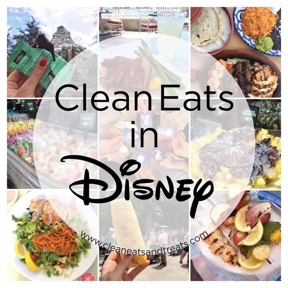 Clean Eats & Healthy Food in Disneyland #disneylandfood