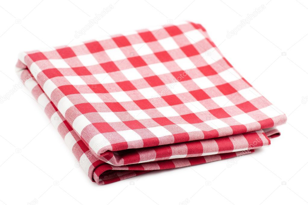 Red And White Tablecloth Stock Photo Affiliate White Red