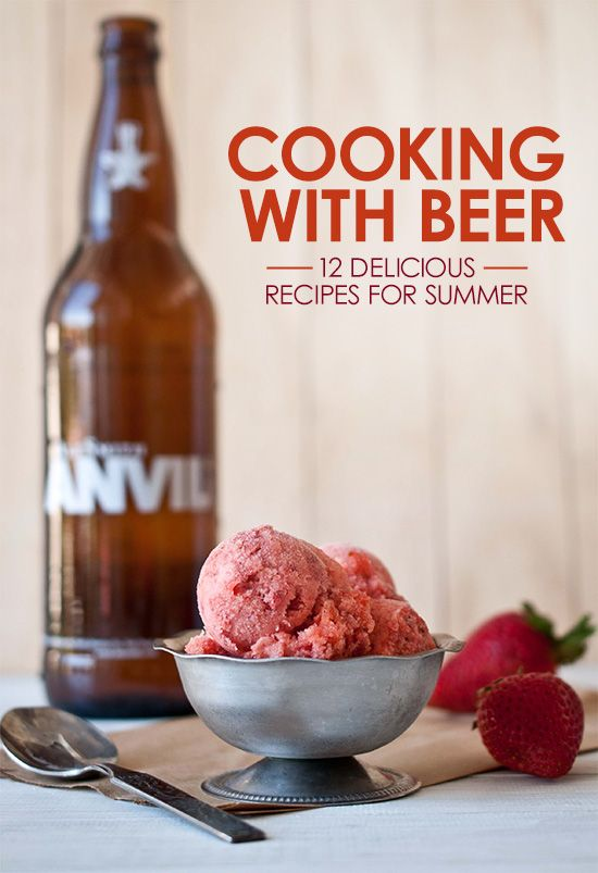 Cooking with beer 12 delicious recipes for summer spring summer cooking with beer 12 delicious recipes for summer forumfinder Choice Image