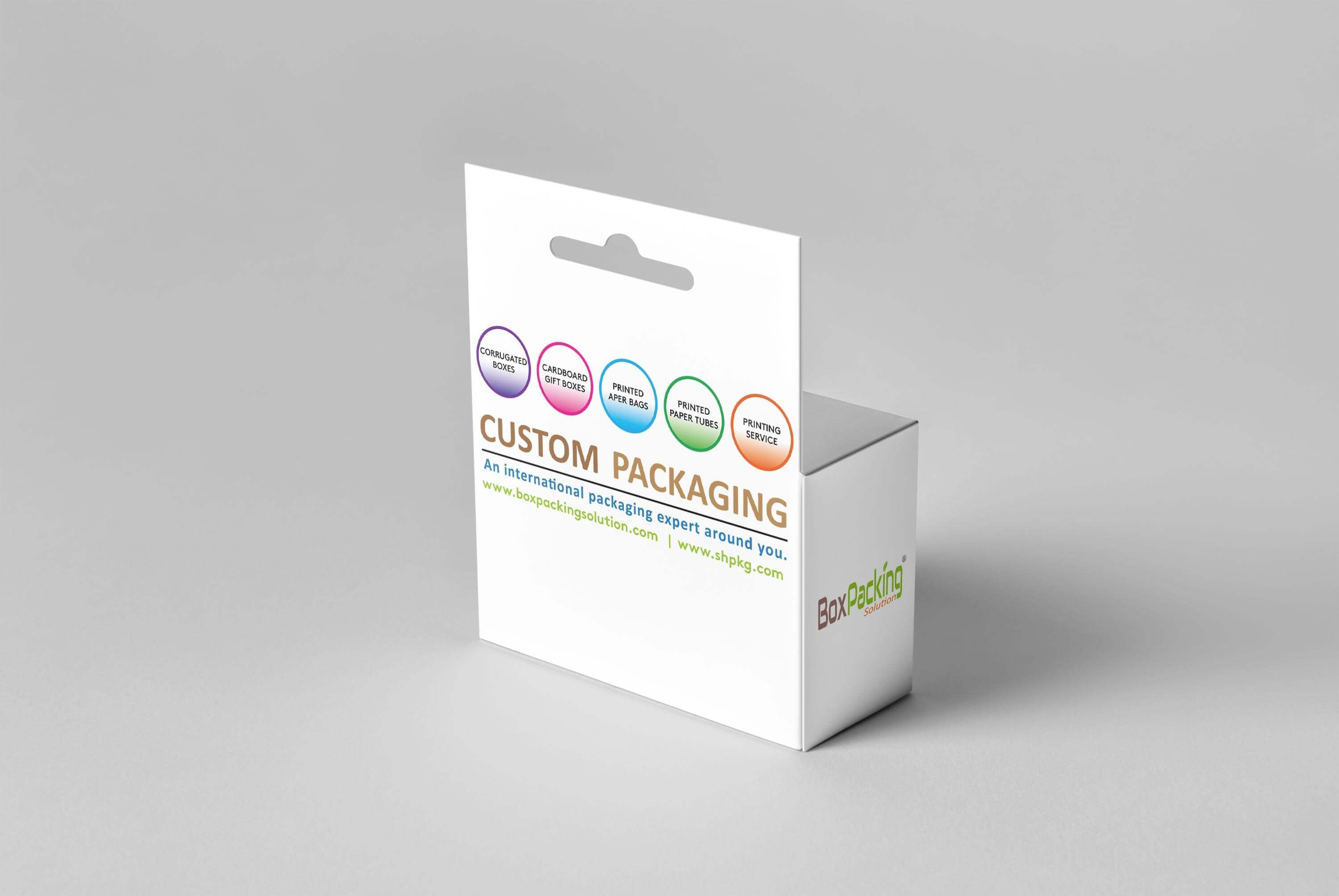 Download The Comprehensive Guide For Hang Tab Boxes Hanging Retail Boxes Box Mockup Retail Box Box