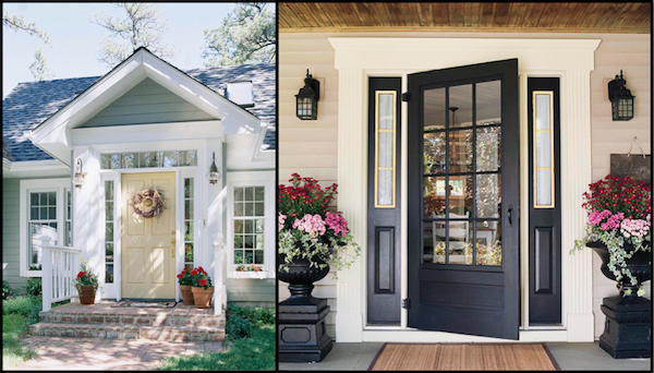 Unique Outdoor Lighting Is The Perfect Way To Fix Up An Entryway For Fall Winter Seasons