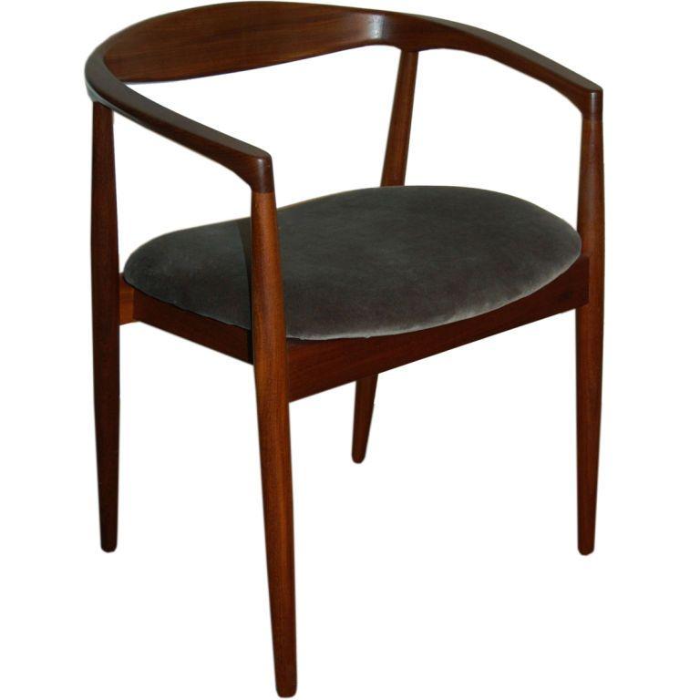 Mid Century Modern Chair Designers danish mid-century modern teak arm chair | mid-century modern, mid