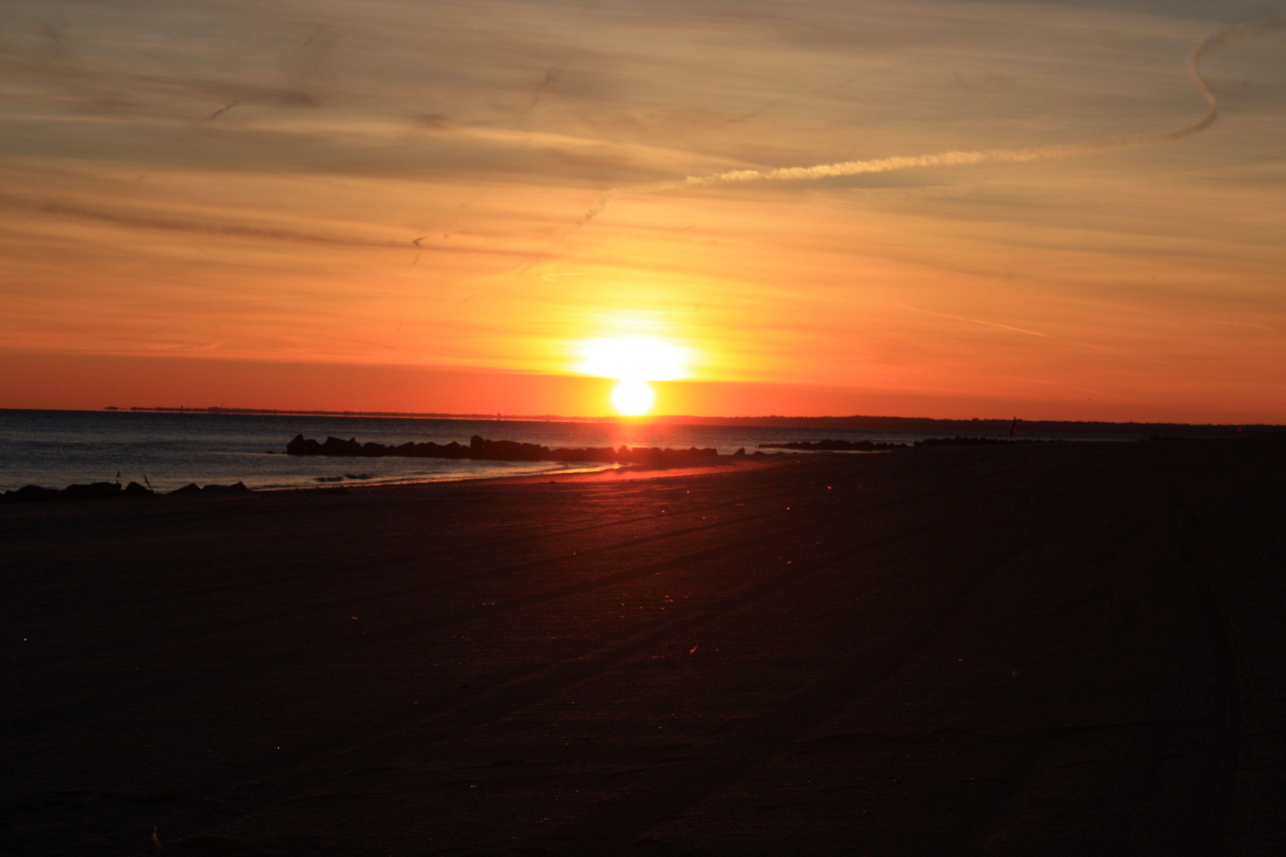 Sunset Coney Island, New York