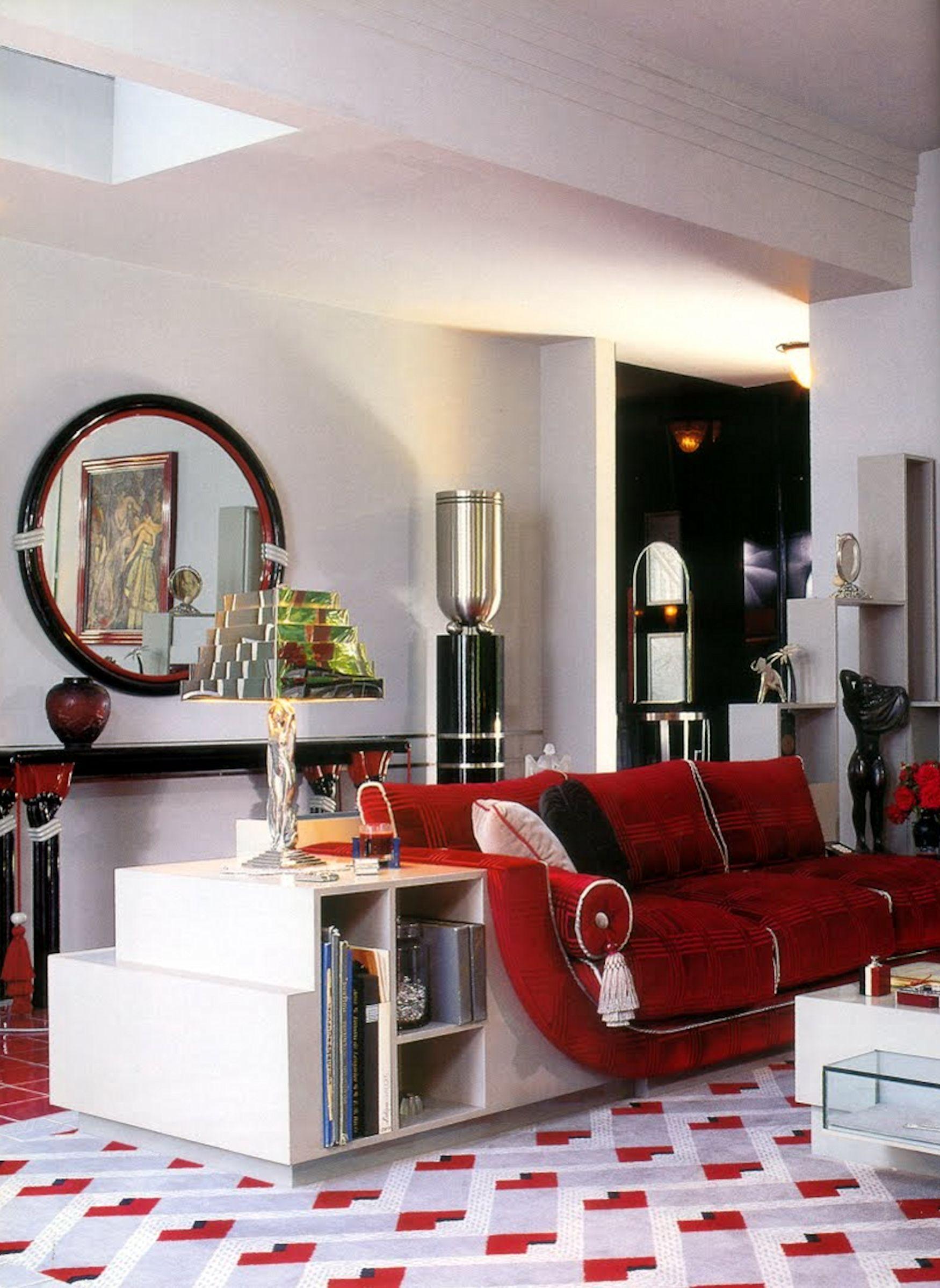 Art Deco House Interior. Art Deco Interior  Barbra Streisand Collection fills the star s house in Malibu