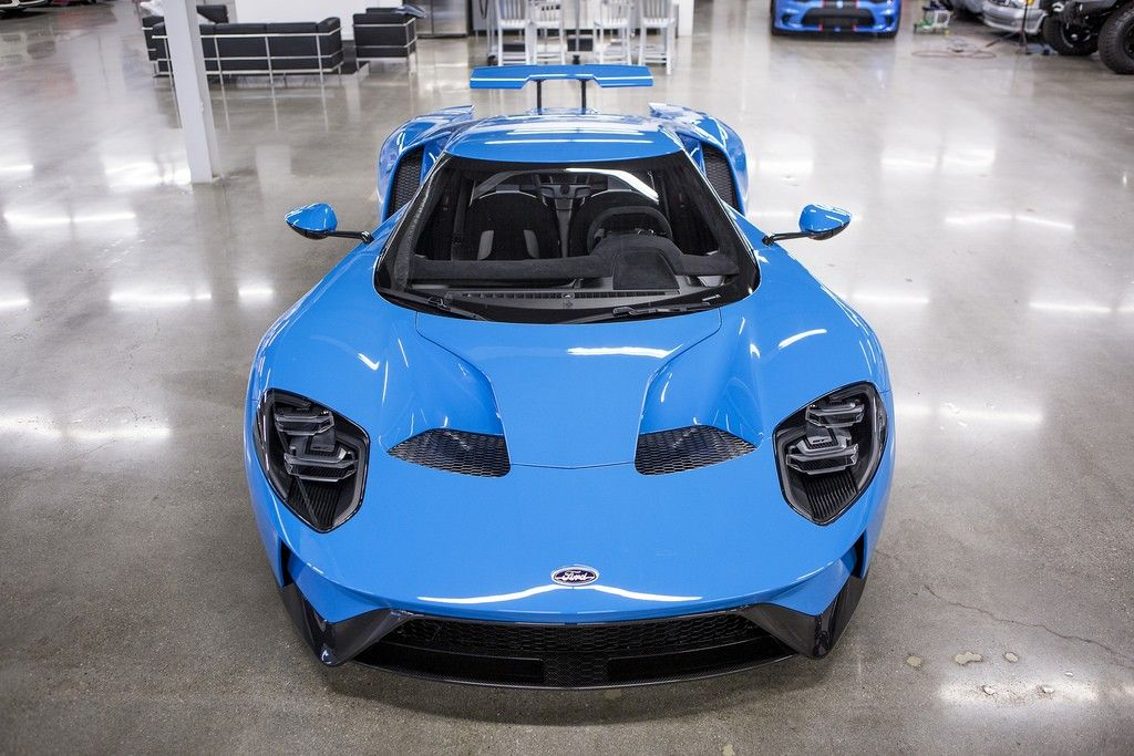 Ford Gt  Riviera Blue Owned By The Creator Of The Ford Gt Forum