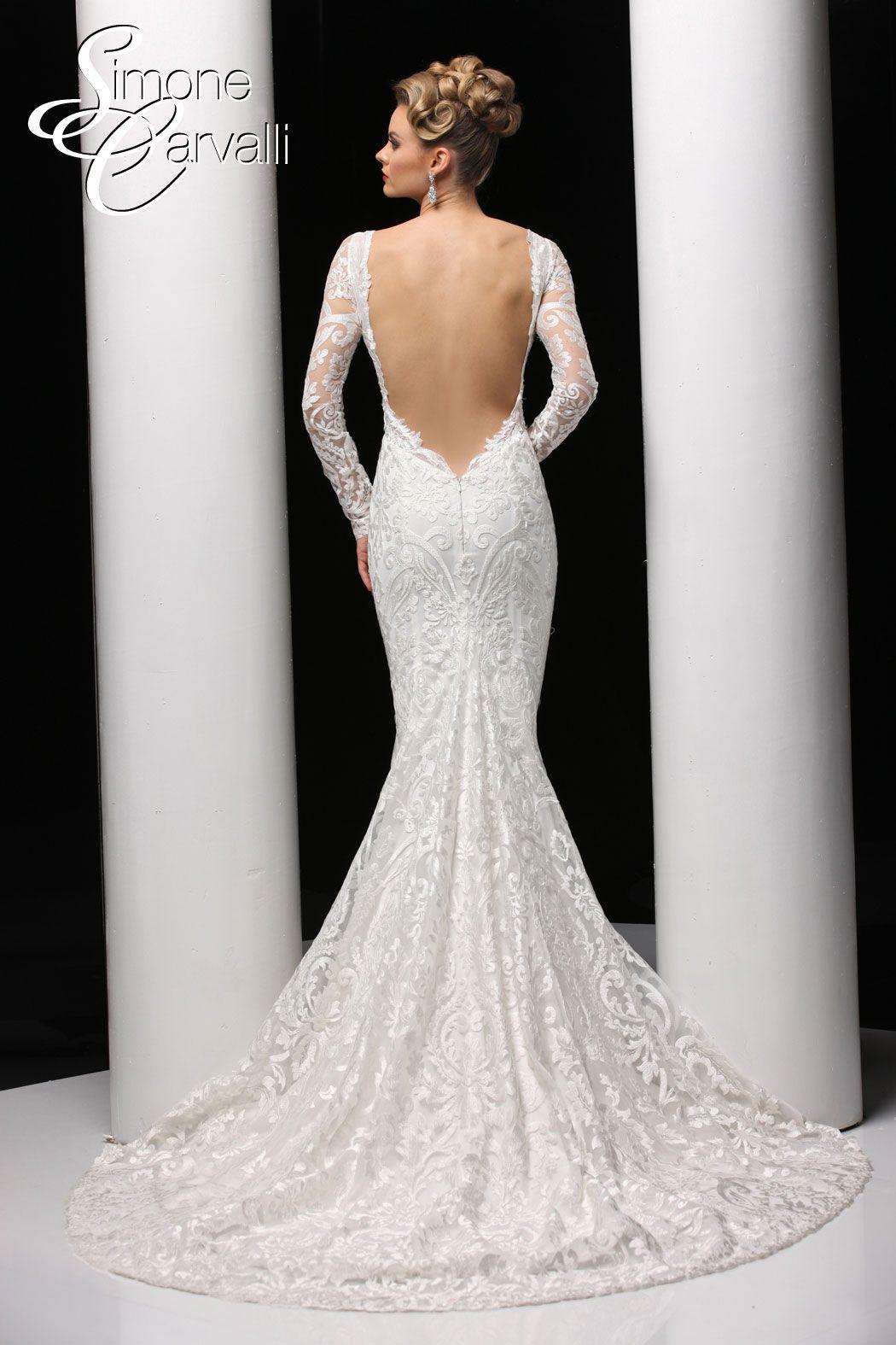 Simone Carvalli Wedding Gown