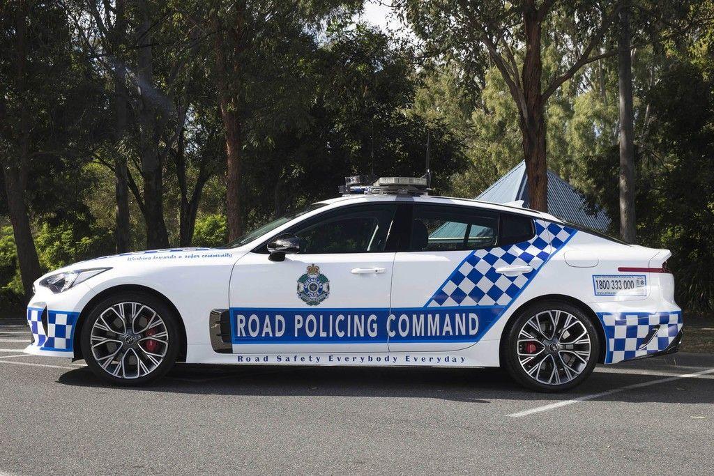 Kia Stinger La Nueva Patrulla De La Policia De Australia Police