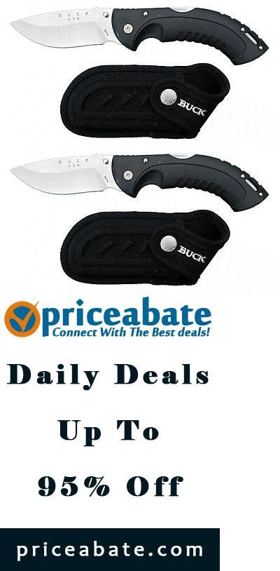 #priceabatedeals Buck 397 Folding Omni Hunter 12pt Drop Point Knife 397BKS New - Buy This Item Now For Only: $35.99