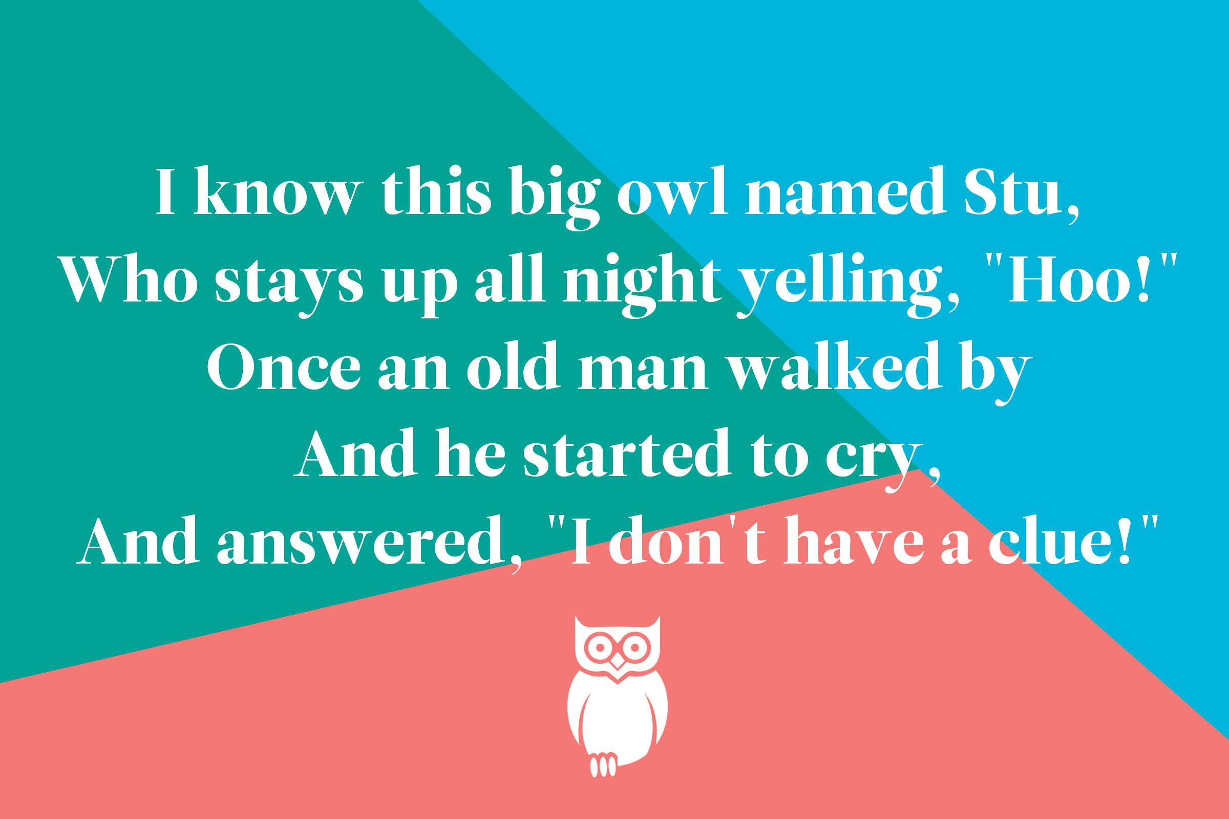 10 Quirky Limericks For Kids That Everyone Will Find Funny