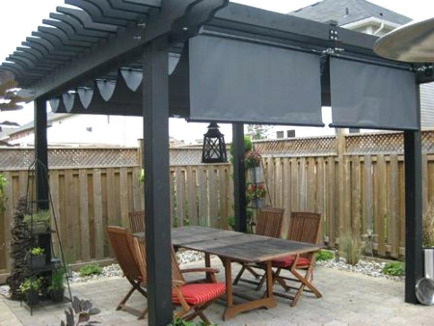 patio shade pergola