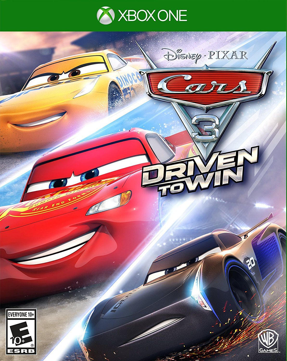 Cars driven to win game cover xbox 360