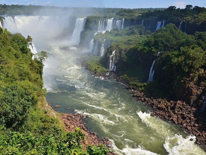 Iguazu Waterfall xHD Wallpaper on MobDecor Iguazu