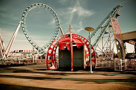 Uber Creepy Tour: Abandoned Six Flags New Orleans [69 Pics] | WebUrbanist