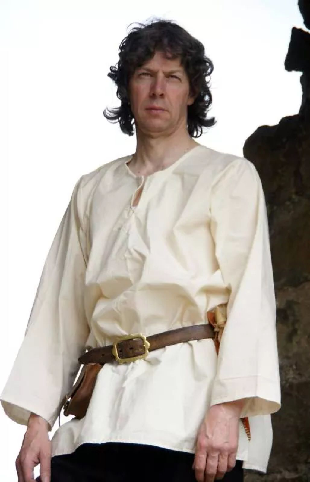 Medieval//LARP//SCA re enactment BASIC SHIRT in all sizes male sizes SMALL-XXXXL
