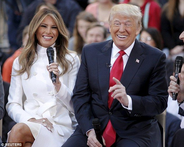 Melania Says She Wishes Her Husband Would Give Up Twitter Donald And Melania Trump First Lady Donald And Melania