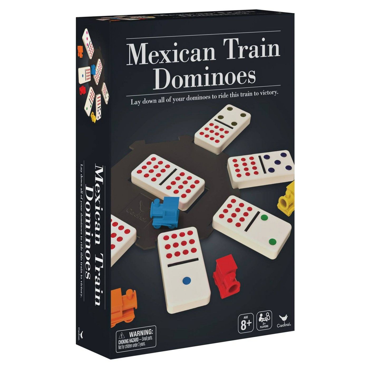 Cardinal Mexican Train Dominoes Game Affiliate Mexican