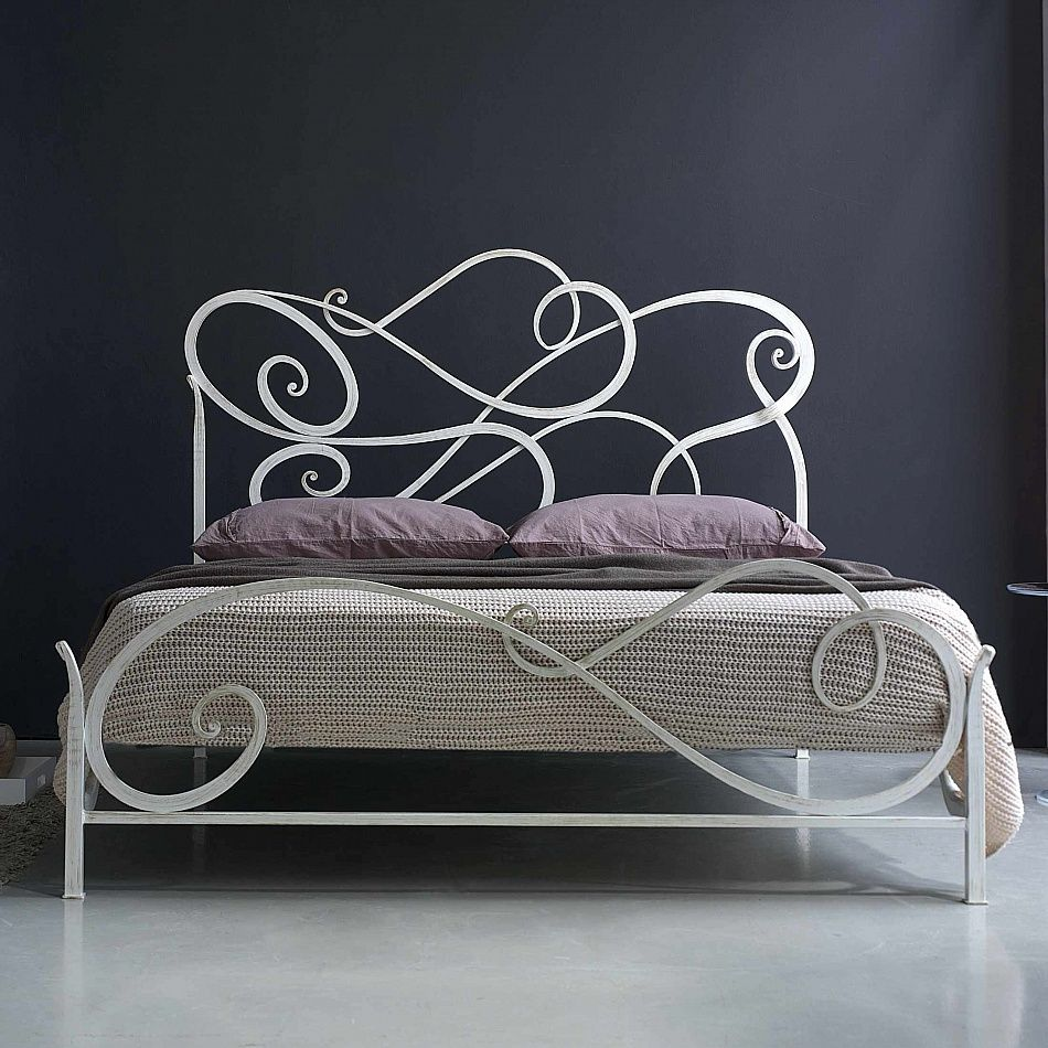 Wrought Iron Bed Aura By Cossato Classic And Modern Unique