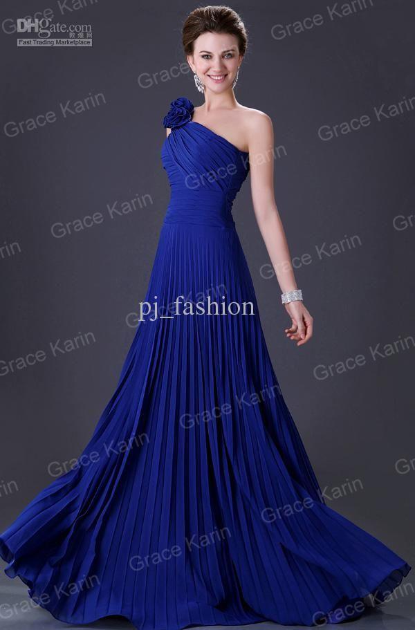 vestido azul | monserrath | Pinterest | Vestidos azules, Azul y ...