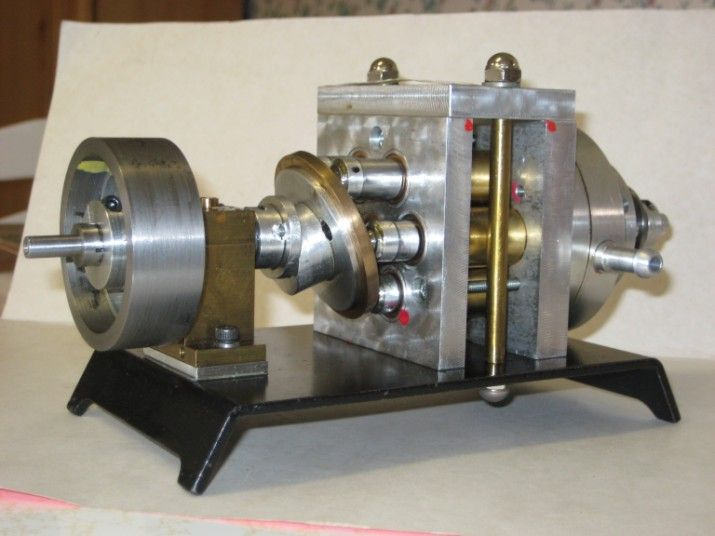 Joe Ritter's Swash Plate Model Engine | Engines | Stirling engine