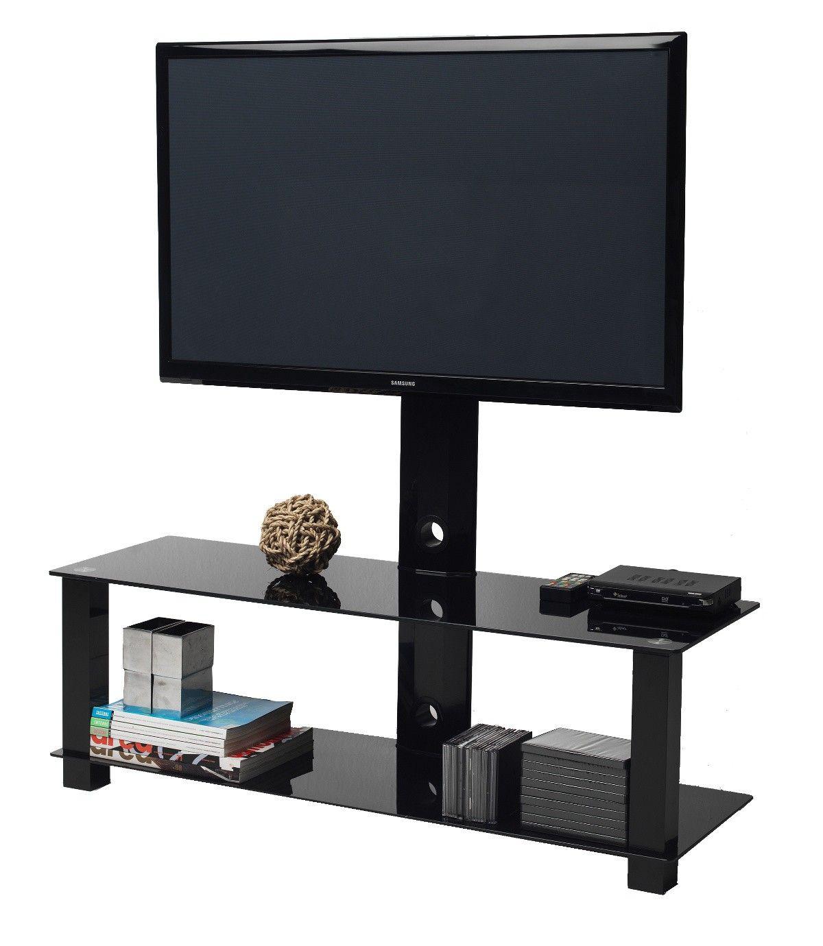 Staffa Porta Tv Plasma.Mobile Porta Tv M4001l Staffa Girevole In Metallo 60 Pollici Living Spaces Tv Mobile