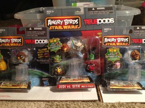 10 Angry Birds Starwars Telepods As Pictured Darth Maul Qui