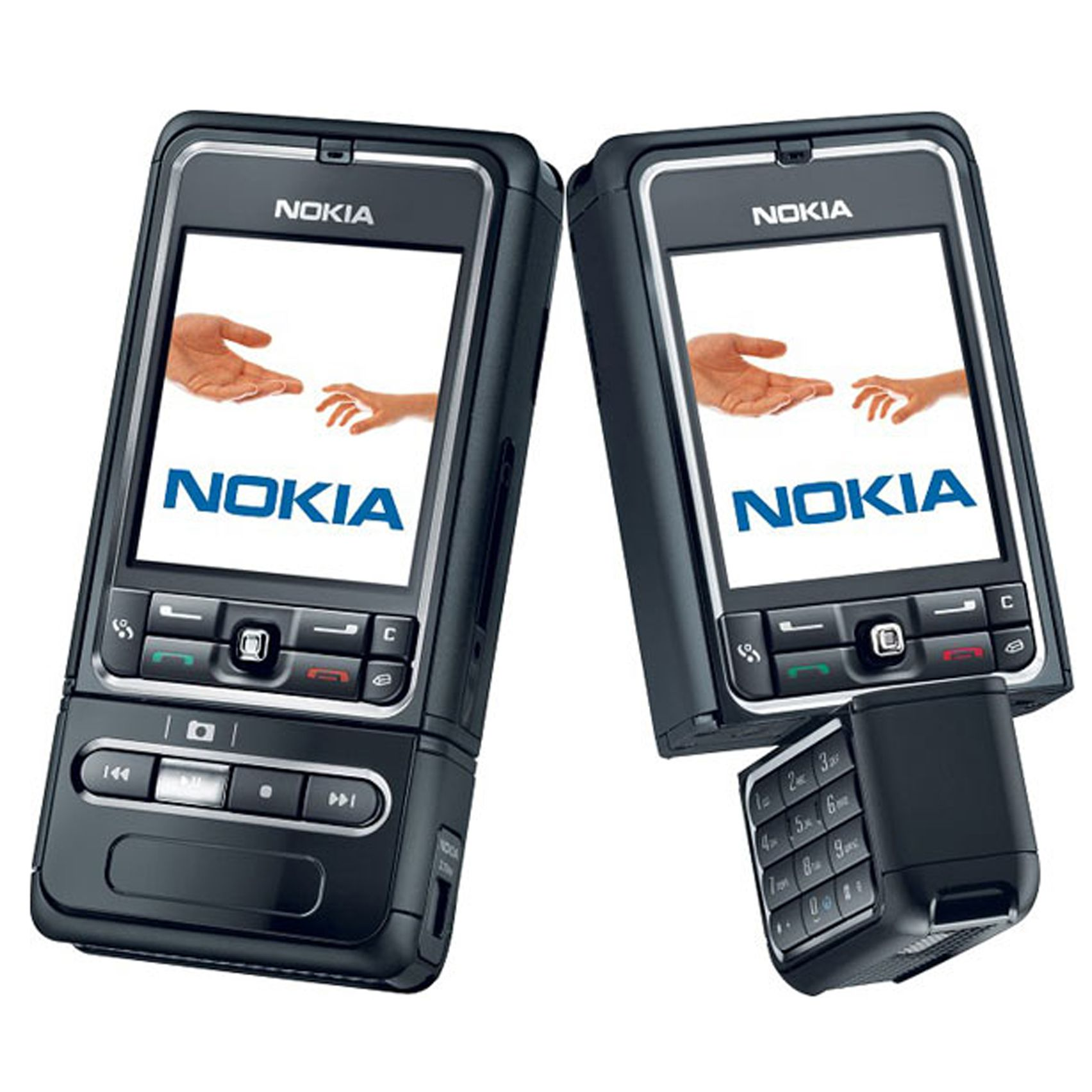 Nokia 3250 - I used this for almost 4 years  :D