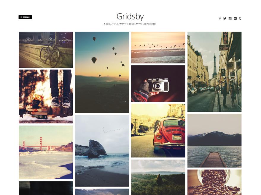 Gridsby — Free WordPress Themes | wordpress theme - portfolio ...
