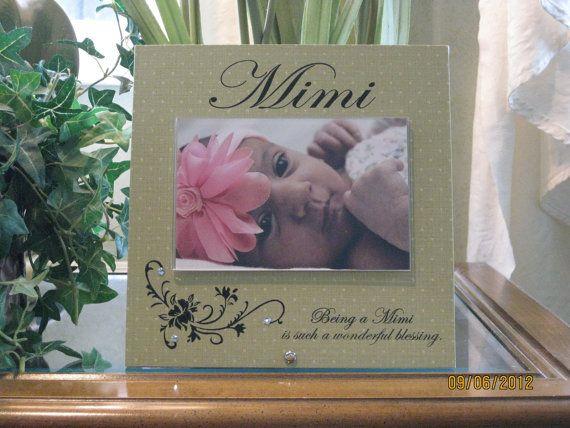 Personalized Grandmother Picture Frame Grandma Mimi Nonna