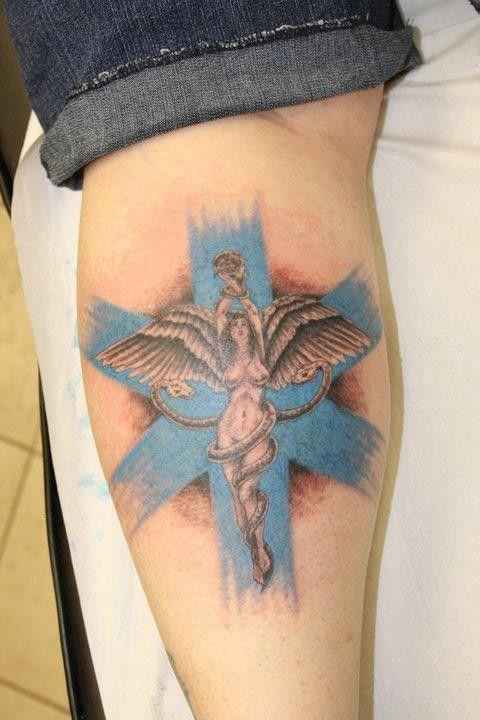 Asclepius Tattoo Designs