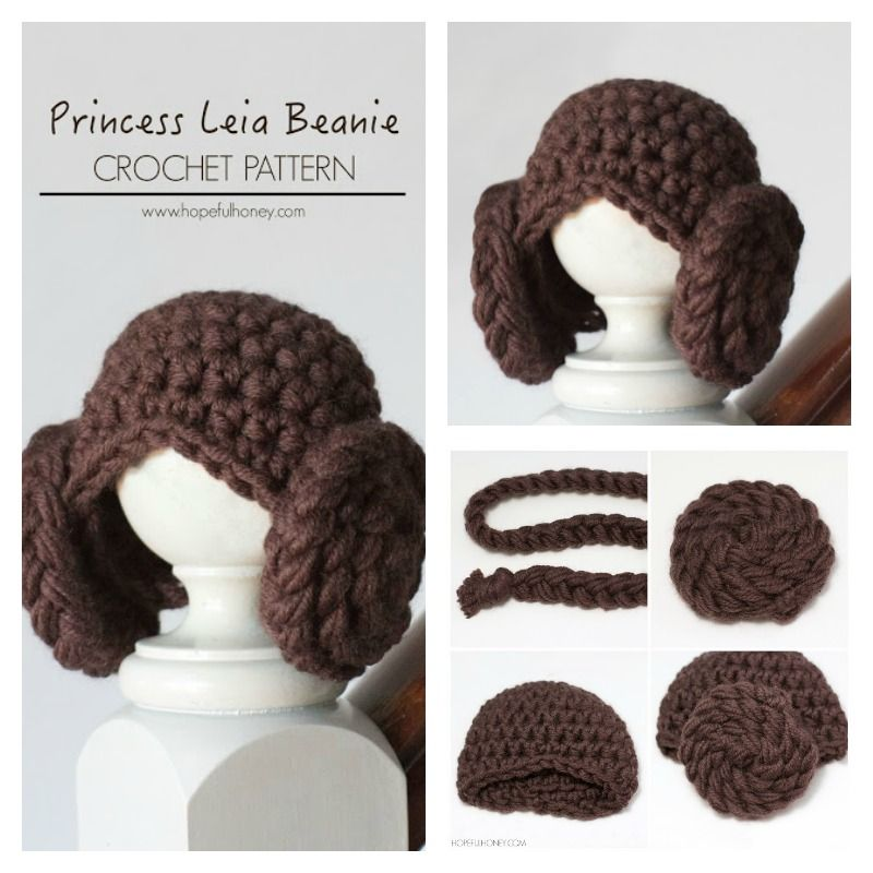 DIY Adorable Princess Leia Yarn Wig | Fasching