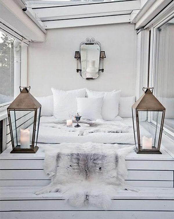 Terrassengestaltung Bilder Balkon Gestalten Wintergarten Ideen