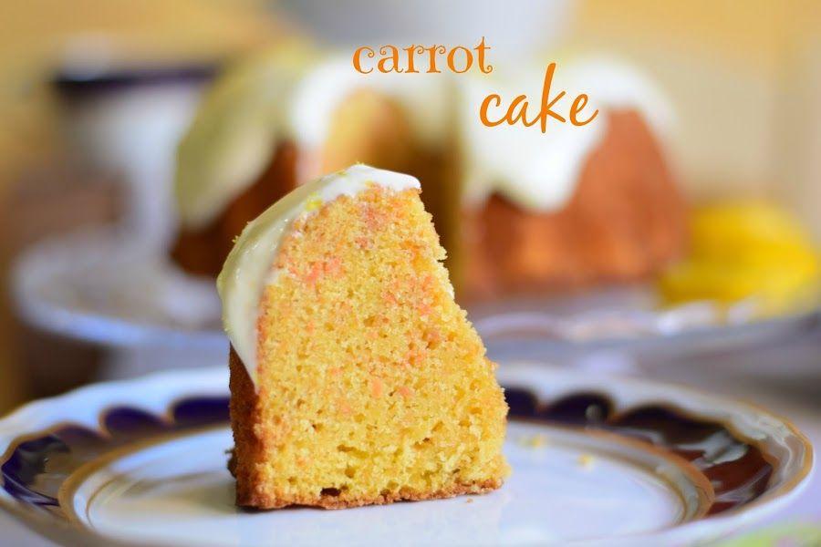 Pastel de zanahoria (carrot cake) con frosting de limón | Cocina