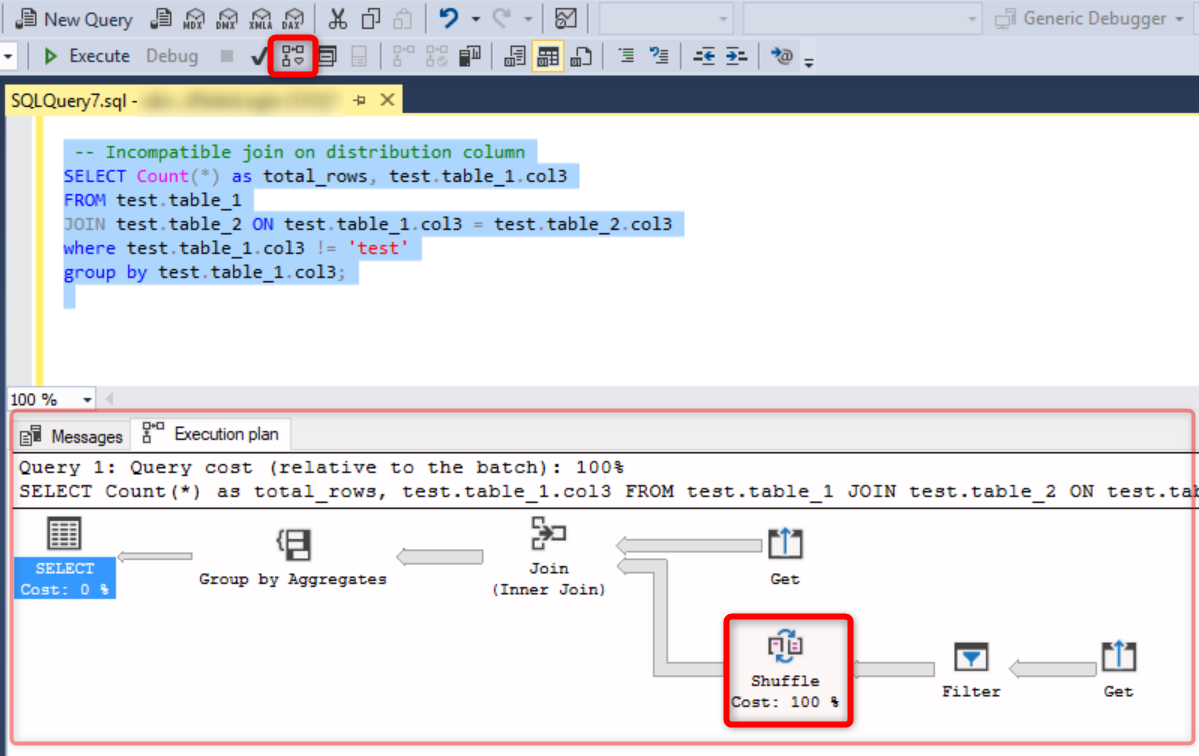 Unlock Query Performance with SQL Data Warehouse using Graphical Execution Plans