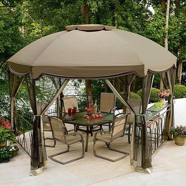 Grandview Hex Gazebo Canopy | Gazebo canopy Canopy and Replacement canopy : diy gazebo canopy replacement - memphite.com