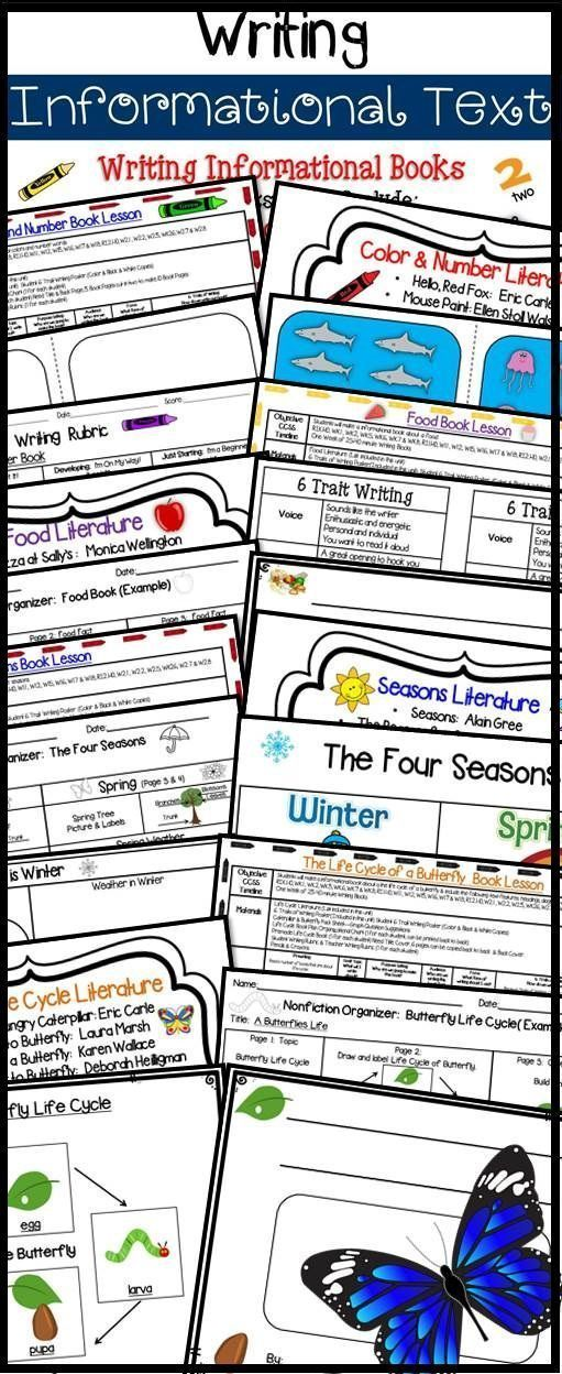 Writing Informational Text 4 Units  Lessons Lesson plan examples - unit lesson plan template