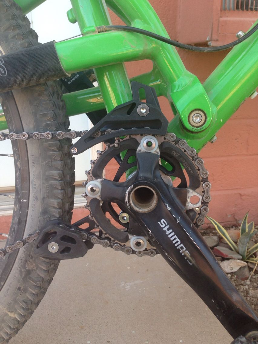 Since Goin To 1x I Had To Get A Chain Guide And Tensioner