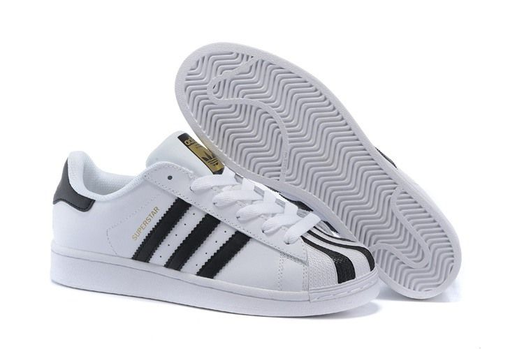 the latest e5713 0590d Adidas Women Men Originals Superstar Shoes White Black