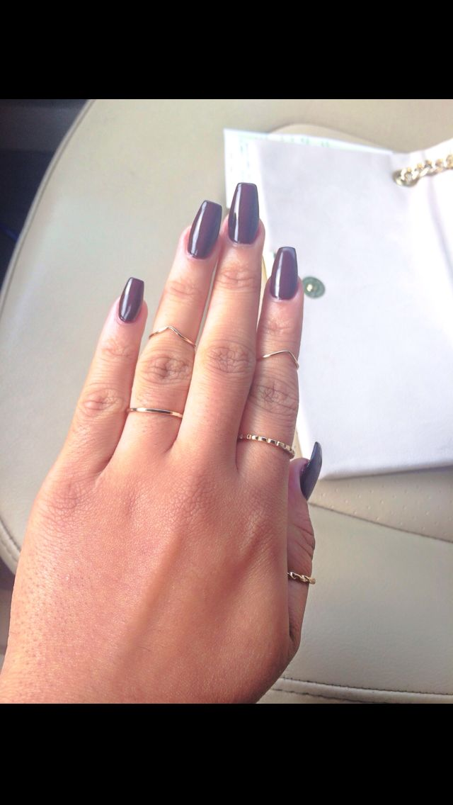 Amazing Narrow Acrylic Nails Images - Nail Art Design Ideas ...