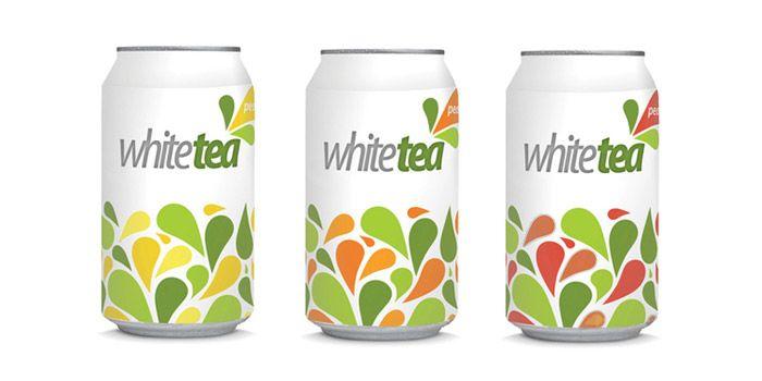 White Tea Ice Tea Packaging Design Tea Packaging Tea Packaging Design Tea Design