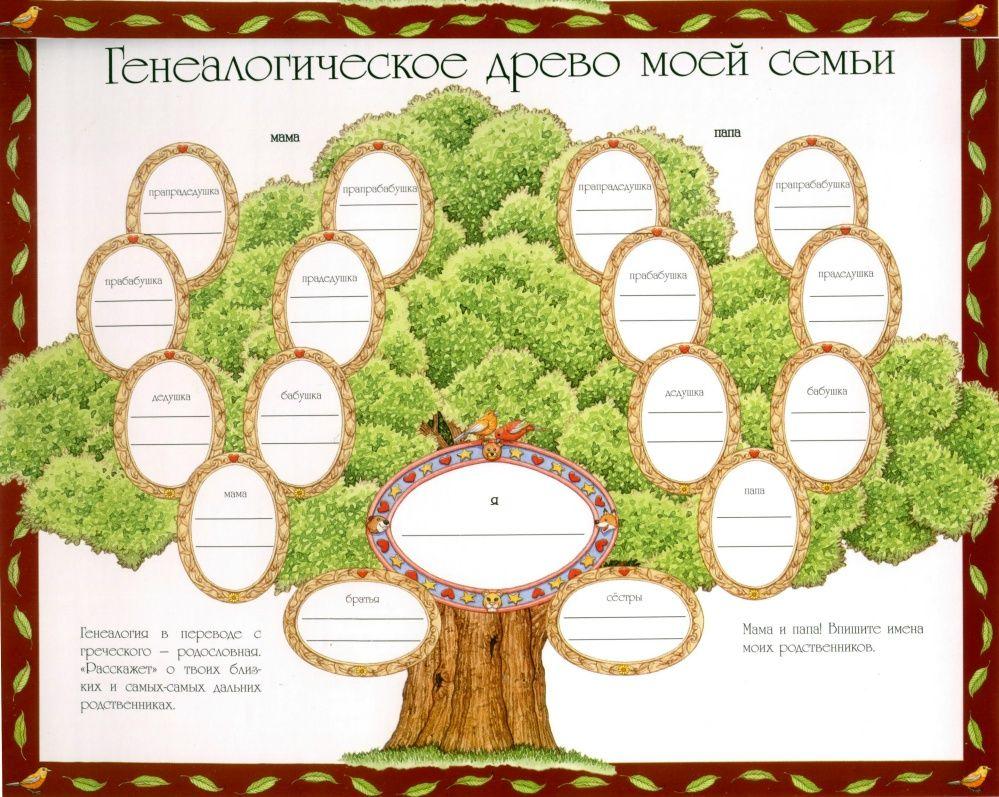 Как своими руками сделать генеалогическое дерево своими руками фото 185