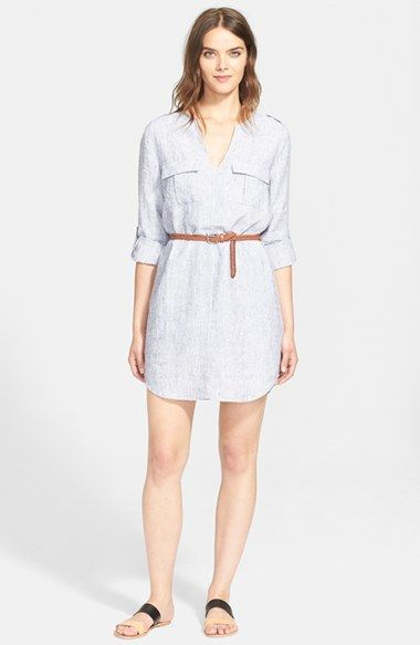 Joie Rathana C Belted Shirtdress Available At