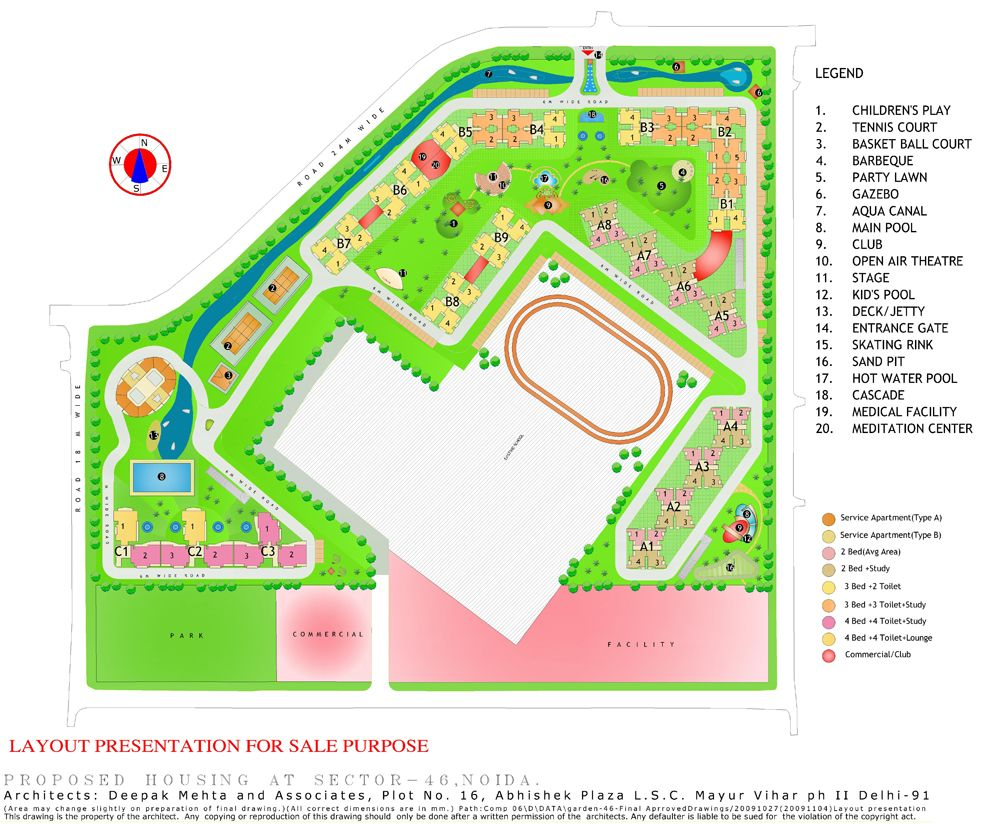 Gardenia Glory Noida Sector 46. Gardenia Glory Residential